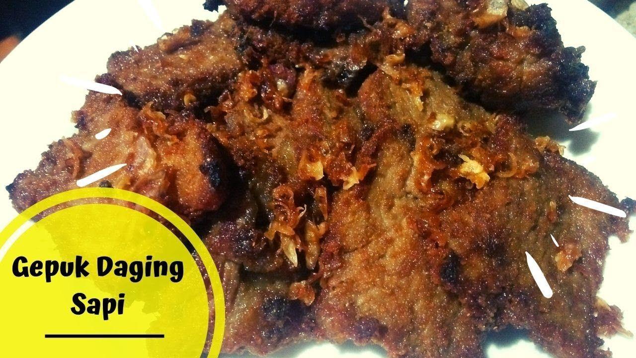 Resep Gepuk Daging Sapi Khas Sunda Daging Daging Sapi Resep