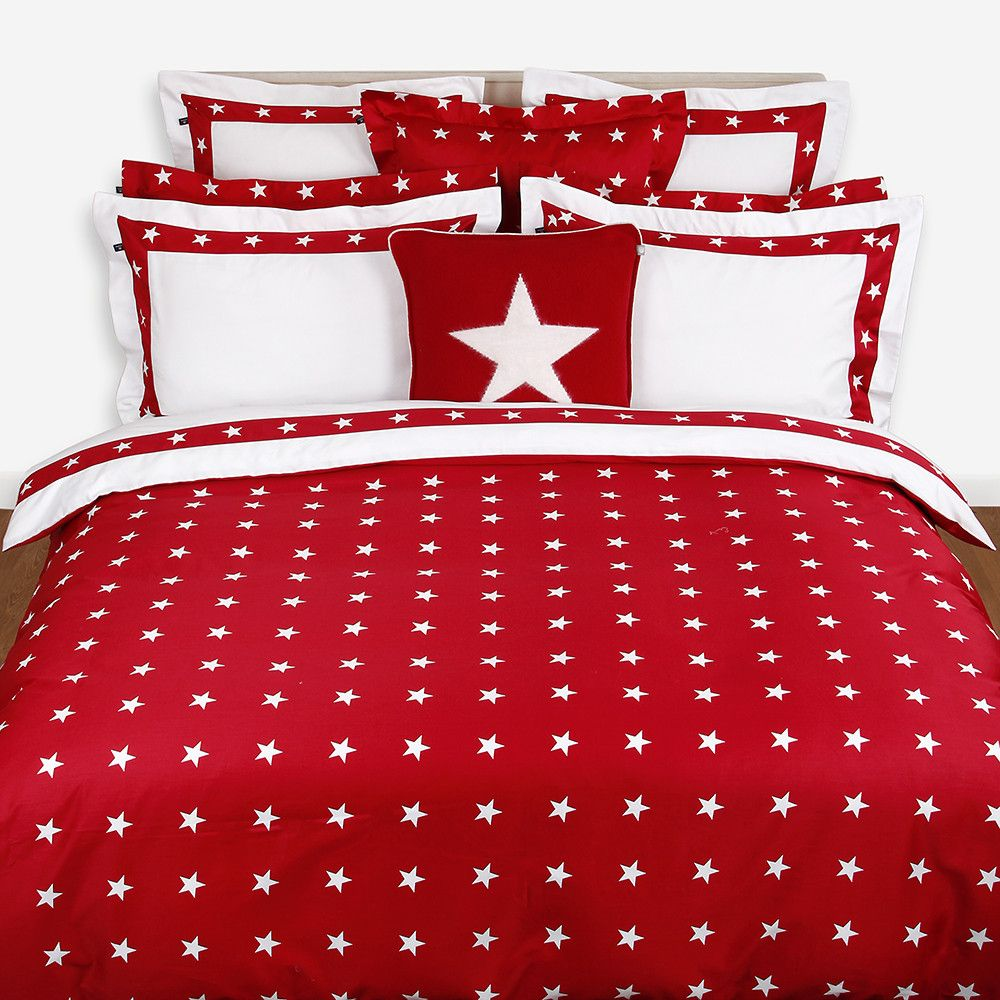 Attractive Discover The Gant Star Border Duvet Cover   Red   Double At Amara