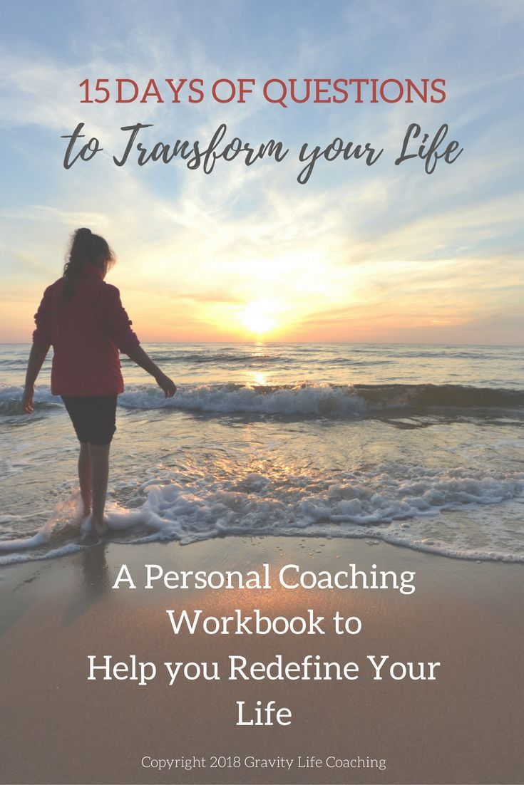 Workbooks total transformation workbook : 15 Days of Questions to Transform your Life | Personal Coach in a ...