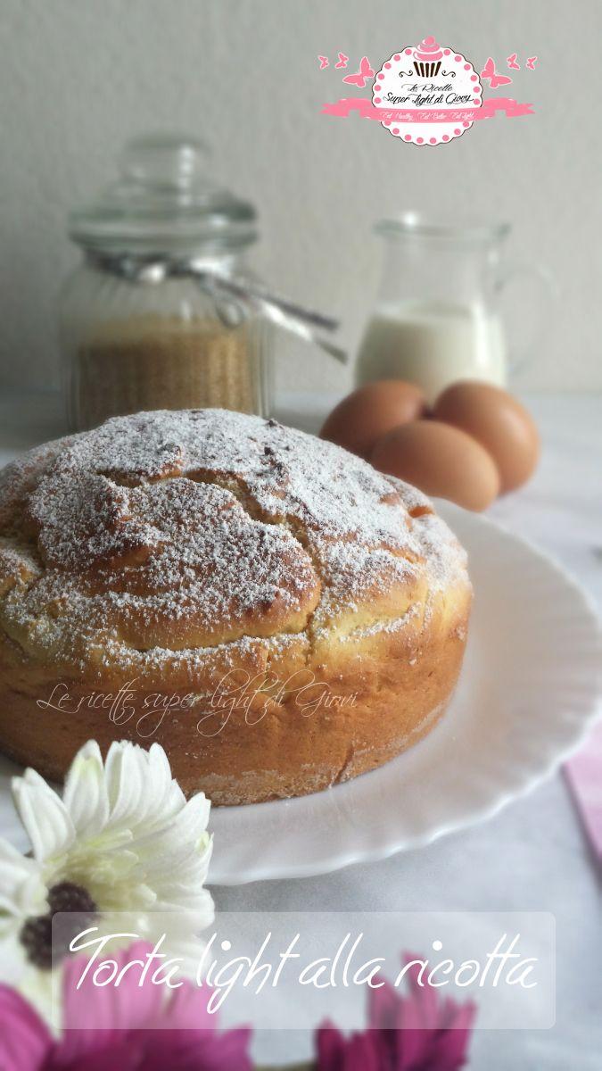 Ciao a tutti! Ispirata dalla torta di ricotta che fa sempre la mia mamma ho voluto provare a farne una tutta mia ma in versione light, senza troppe uova, s