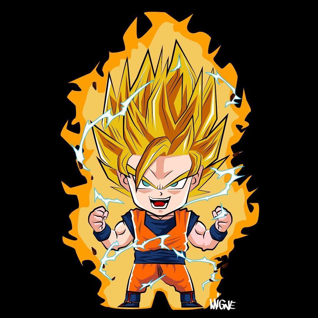 Chibi goku | cartoon | Pinterest | Chibi goku, Goku and Chibi