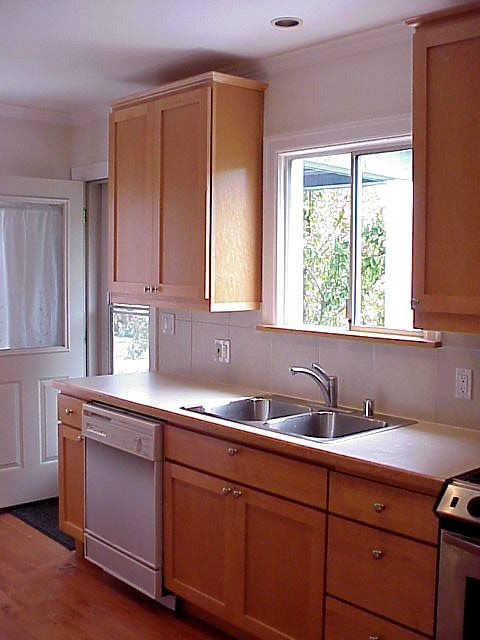 Small Galley Kitchens Remodel Provided More Storage For