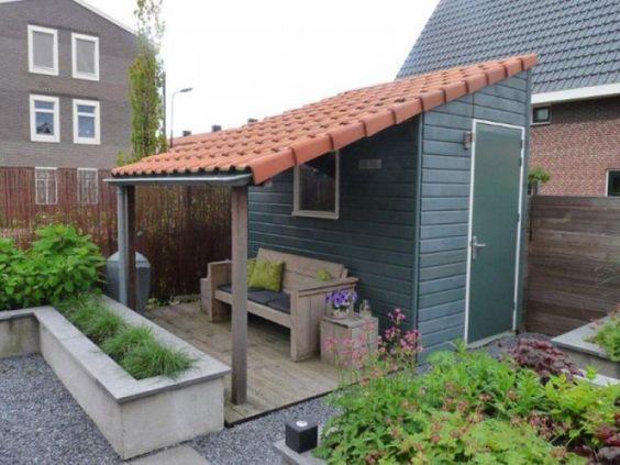 Op zoek naar leuke ideetjes voor een tuinhuisje of