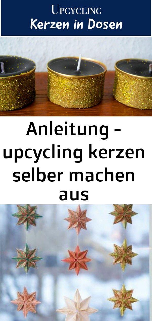 Anleitung – upcycling kerzen selber machen aus kerzenresten und dosen 4