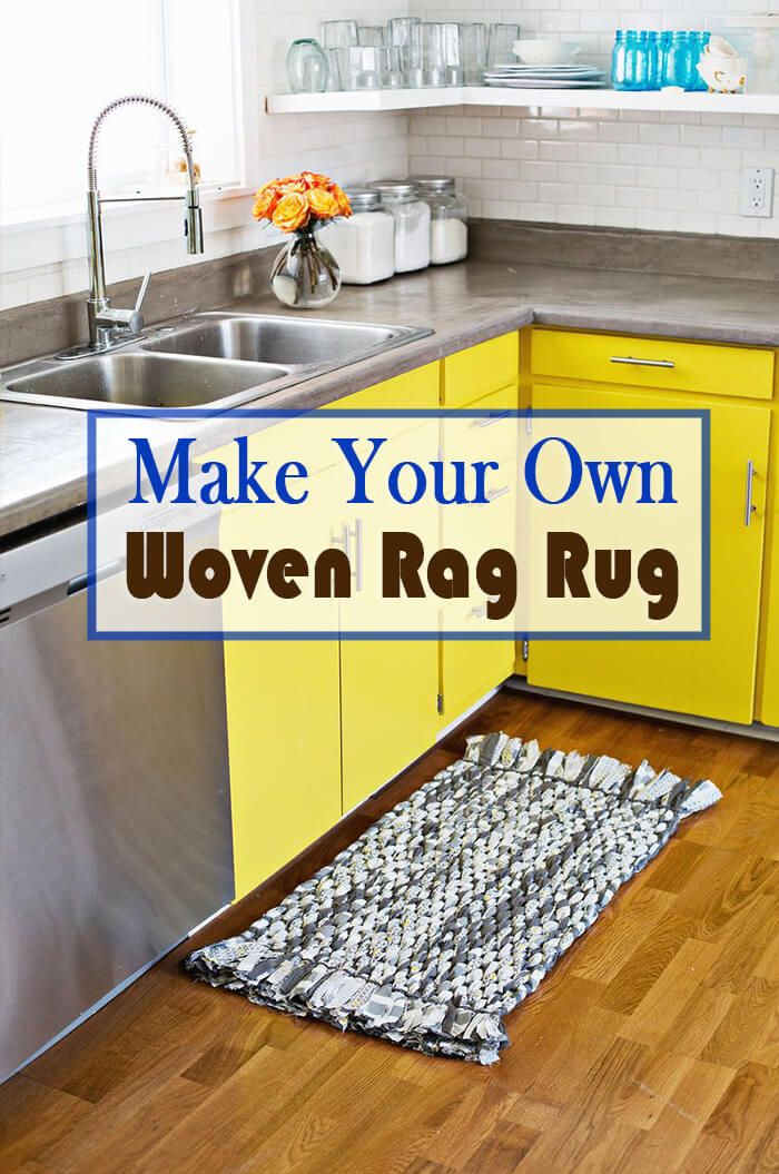 Must-Have Classic Kitchen Rag Rug | Handmade Christmas Gifts ...
