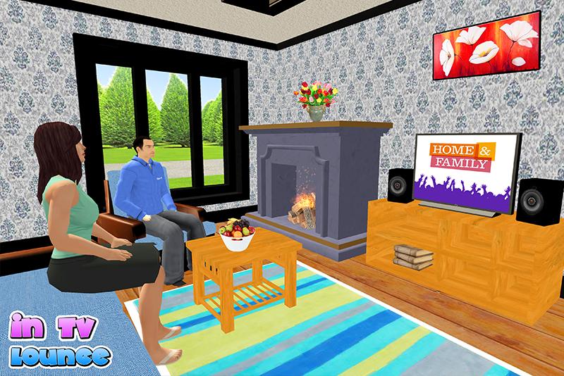 virtual #sister #family #simulator #life #house #task #missions