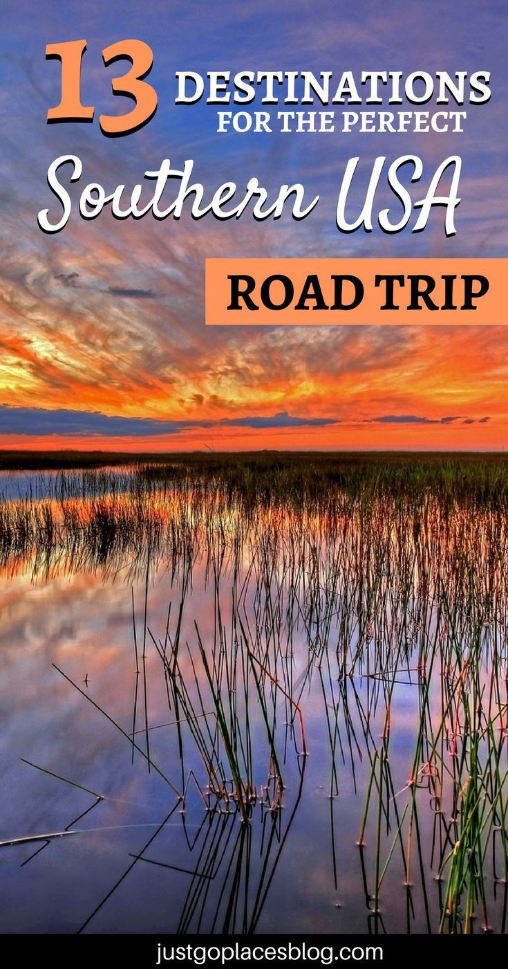 The Best Tips and Ideas for Your Southern USA road trip