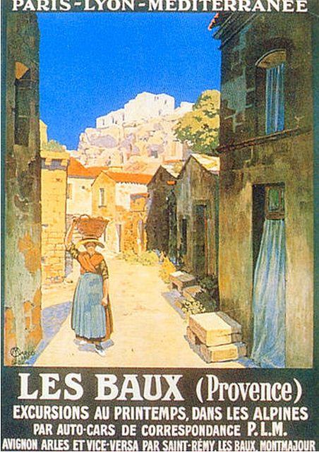 old poster- 1922 les Baux (Provence) | Flickr - Photo Sharing!
