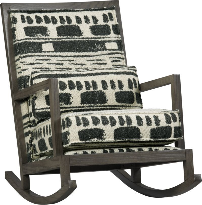 Jeremiah Fabric Back Rocker Crate And Barrel Can We