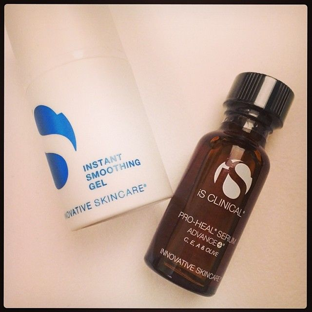 is clinical pro-heal serum and instant smoothing gel