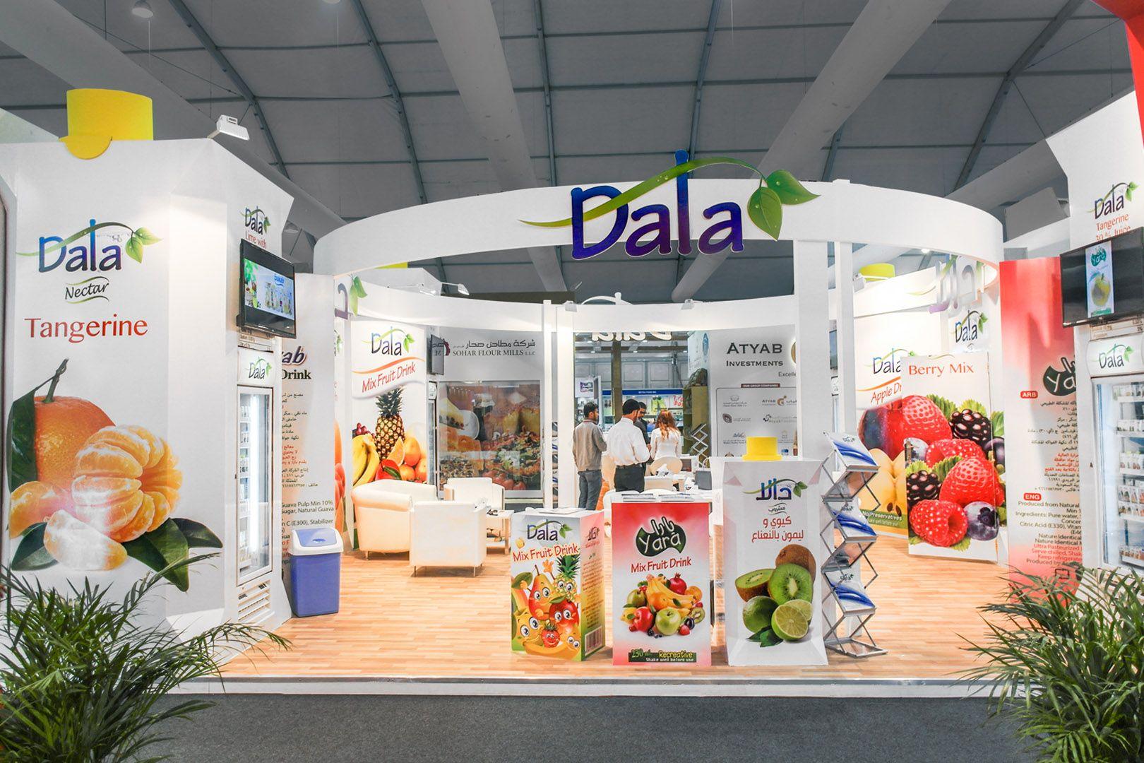 DALA  #foodtradefair #worldfood #foodexpo #dala #standdesign #exhibitionstand #exhibitionbooth #customstand #customstands #custommadestand #tailoredstand