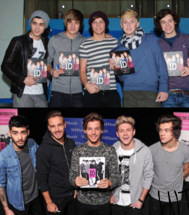 You can't simply scroll past a picture of them standing in the same order.<<< oww right in da feelz