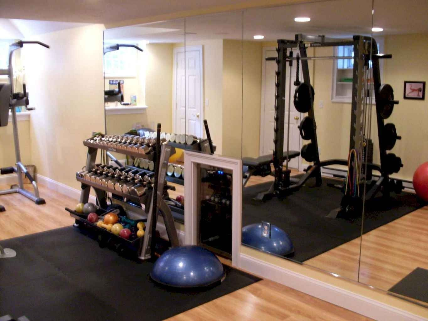 60 Cool Home Gym Ideas Decoration On A Budget For Small Room Gym Room At Home Home Gym Decor Gym Decor
