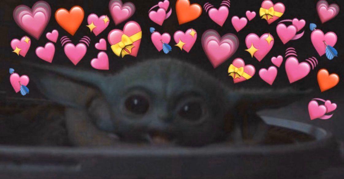 Baby Yoda Heart Meme Heart Meme Life Memes Memes