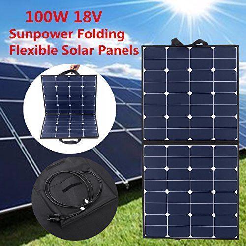 Komplette 220V Solaranlage TÜV Qualitäts  Akku wartungsfrei + 100W