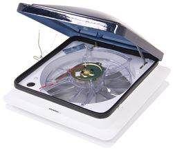 Fan Tastic Vent Roof Vent W 12v Fan Clamp On Manual Lift 14 1 4 X 14 1 4 Fantastic Vent Rv Roof Vents Roof Vented