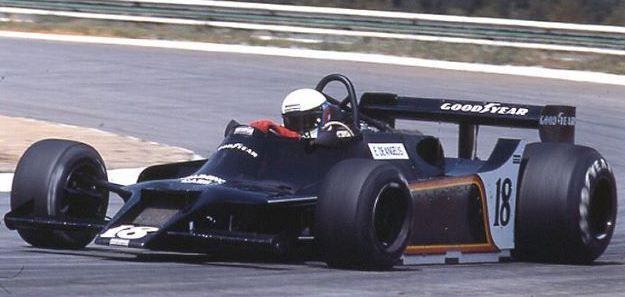 1979 Elio de Angelis; Shadow DN9 - Ford