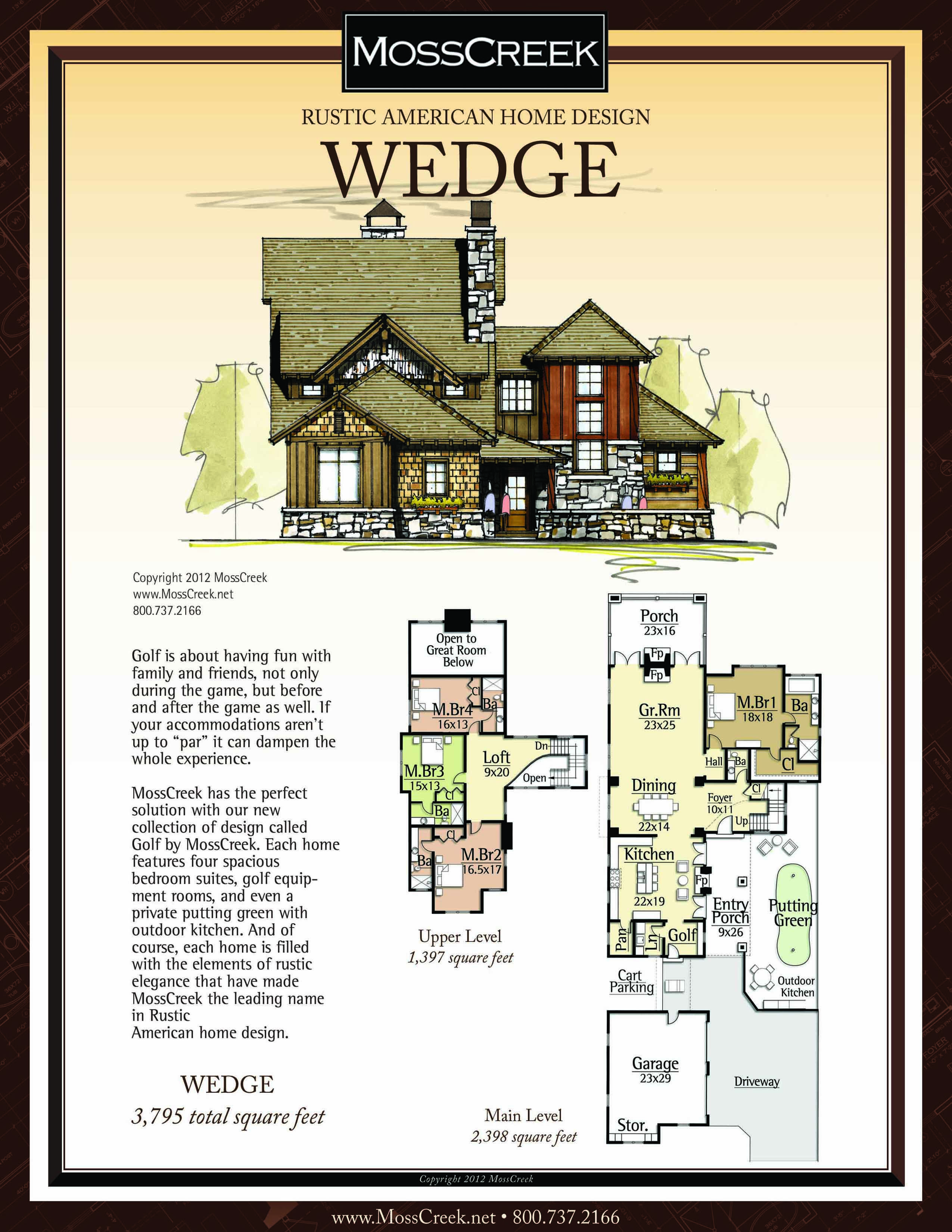 A Ready To Purchase 3795 Sf Home Plan From Mosscreek