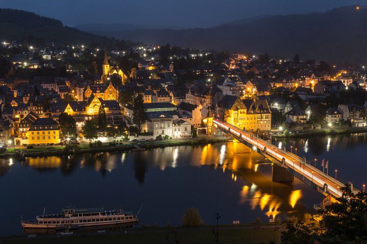 "Photo ""Traben-trarbach at Night"" by Markus Trienke  #OGQ"