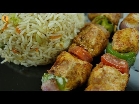 Chicken Shashlik Recipe By Food Fusion Youtube Recipes