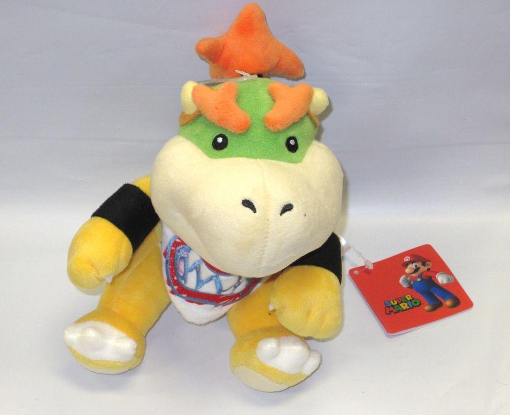 Bowser Jr 7 Plush Official Sen Ei Little Buddy Soft Stuffed