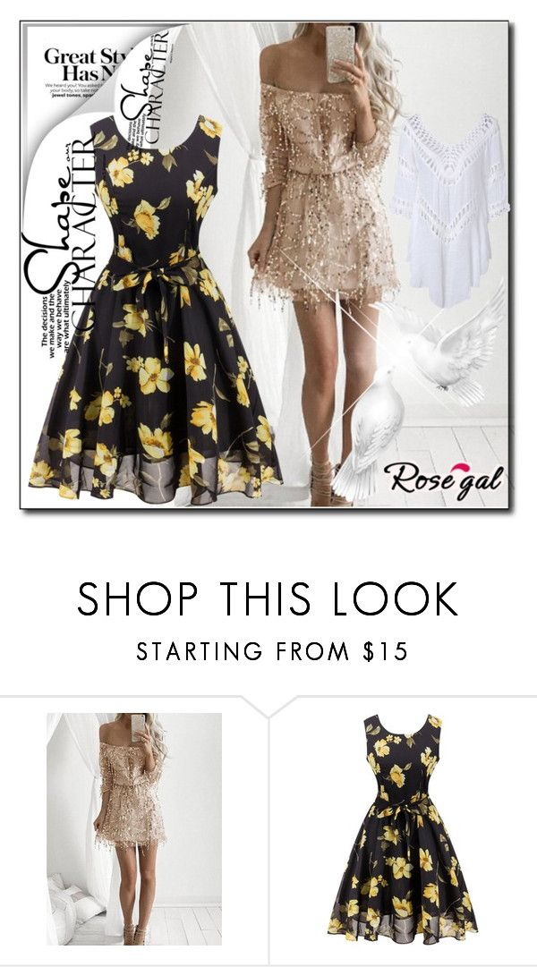 """""""Rosegal 54"""" by melikasalkic ❤ liked on Polyvore"""