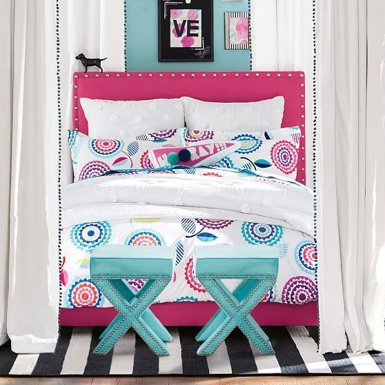 Capel Cottage Stripe Rug Bed For Girls Room Kids