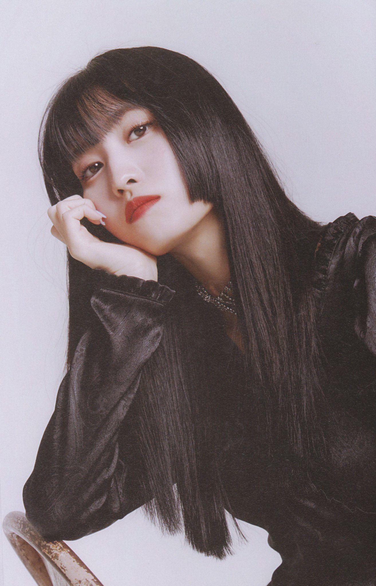 Momo おしゃれまとめの人気アイデア Pinterest Narita 姫カット パッツン前髪 女性