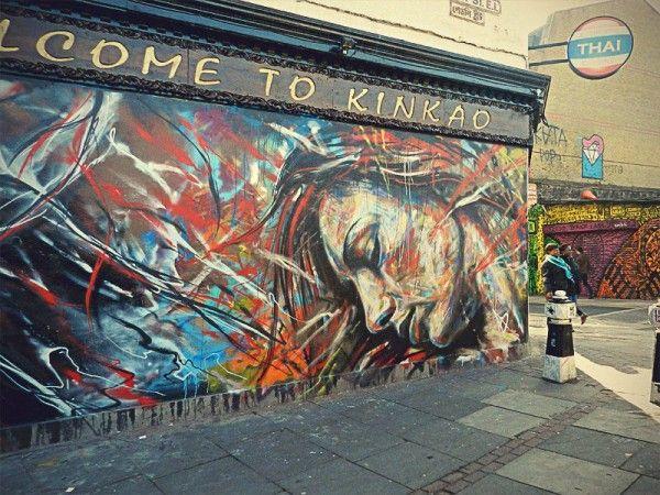 Peintures Murales De L Artiste Anglais David Walker 4