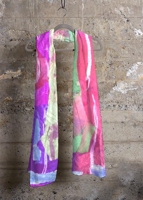 Cashmere Silk Scarf - pink mauve by VIDA VIDA o812Fh4