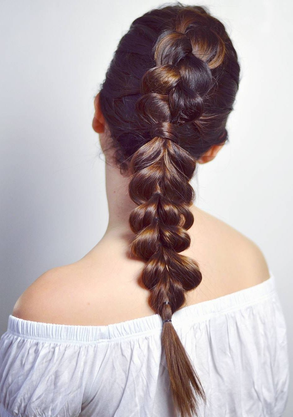 Double braid combo stylish pinterest hair style makeup and