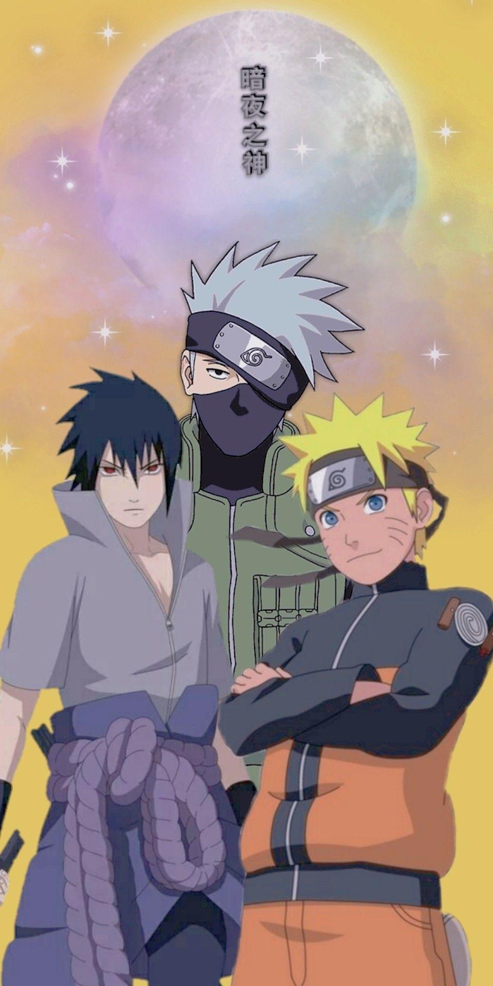 [ Kakashi Naruto Sasuke ] Naruto HD Wallpaper 4K