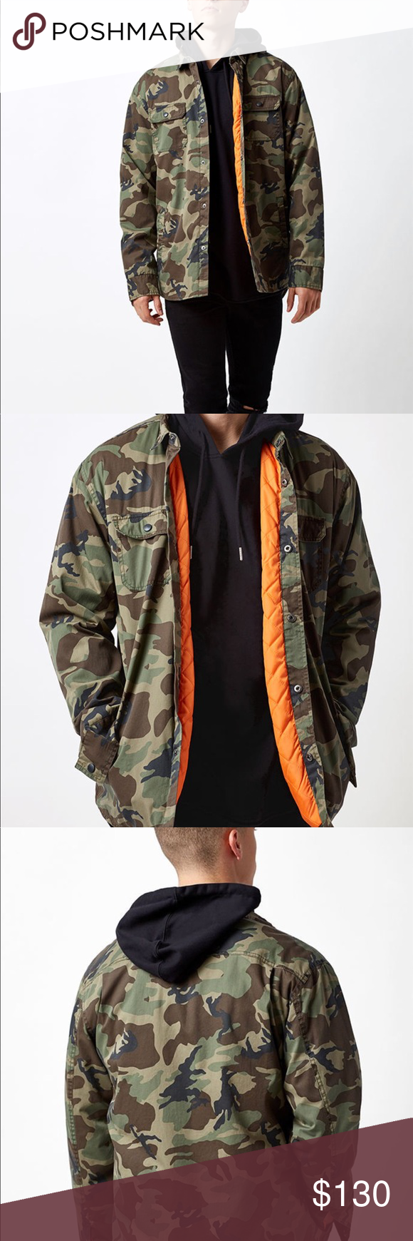 fb72d29f4d5ad Pacsun Camo Jacket Price negotiable - Light but warm, pacsun camouflage  jacket. It's never