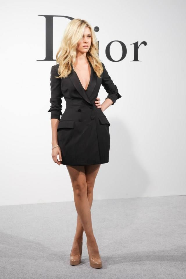 Dior Black Silk Dress The Tuxedo Short Lbd The Lbd And Not So