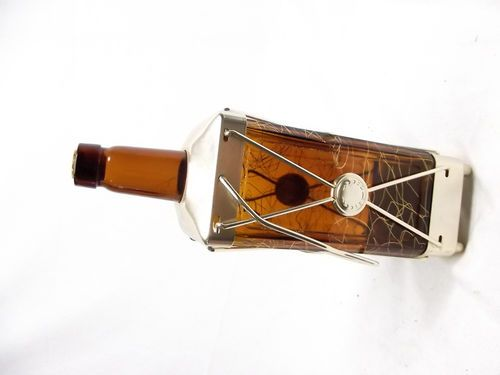 Vtg Swiss Harmony Music Box Decanter Musical Bottle How Dry I Am Lantern USA | eBay