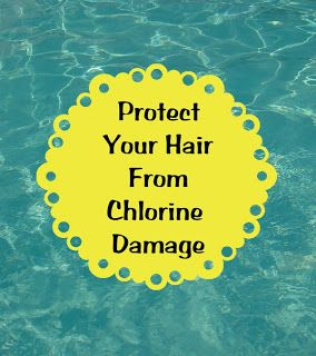 Natural ways to protect your hair when swimming diy bath - Protection from chlorine in swimming pool ...