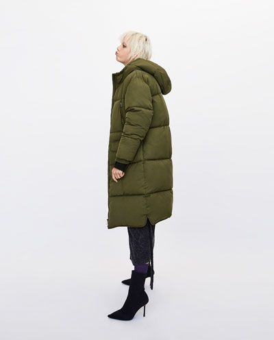 Oversize Zara Doudoune Femme Longue J France Manteaux Doudounes 5AqxgTH