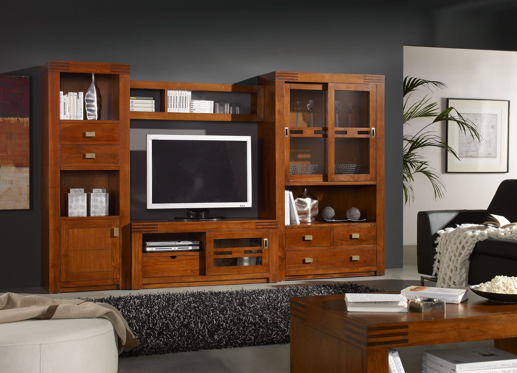 Modular colonial serie wood muebles coloniales for Muebles coloniales