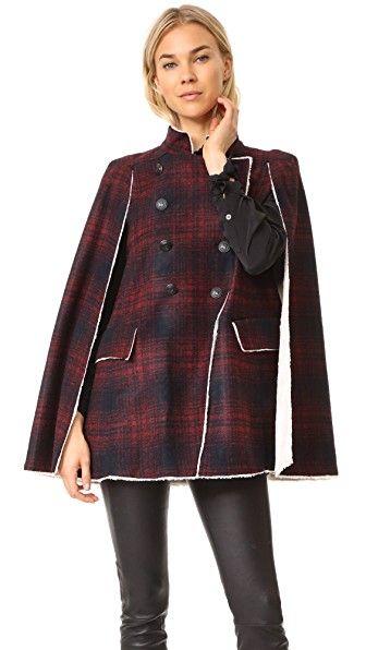 6f660b59ff PIERRE BALMAIN PIERRE BALMAIN CAPE COAT. #pierrebalmain #cloth ...