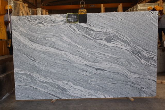 Viscount White Granite Slab Intrepid Marble And Granite