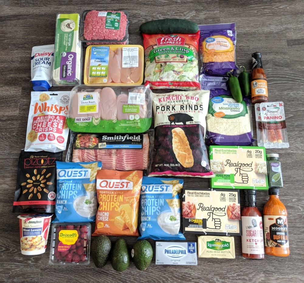 Keto Snacks Cleanest Keto Snack Foods At Walmart Low Carb Grocery Keto Shopping List Low Carb Shopping List