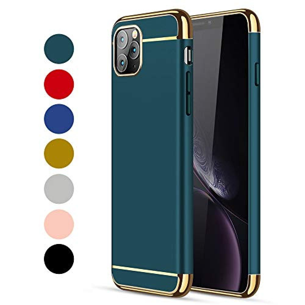 Crosymx iphone 11 pro max case 3 in 1 ultra thin and slim