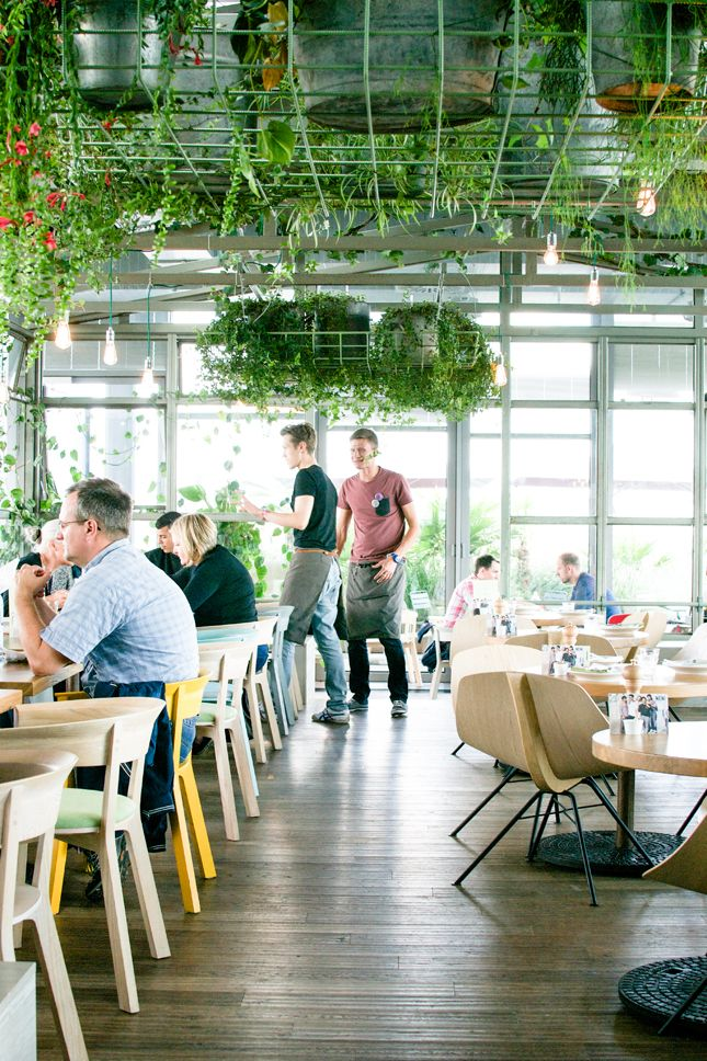 From Place To Space 25 Hours Hotel Bikini In Berlin Happy Interior Blog Restaurant Garden Cafe Restaurant Design