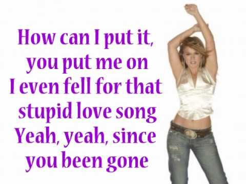 Kelly Clarkson Since U Been Gone Lyrics