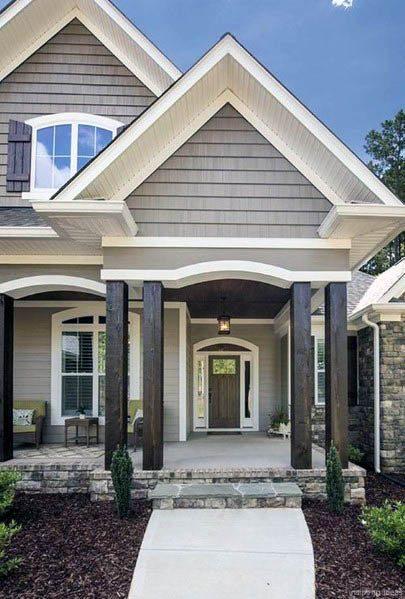 Top 60 Best Exterior House Siding Ideas