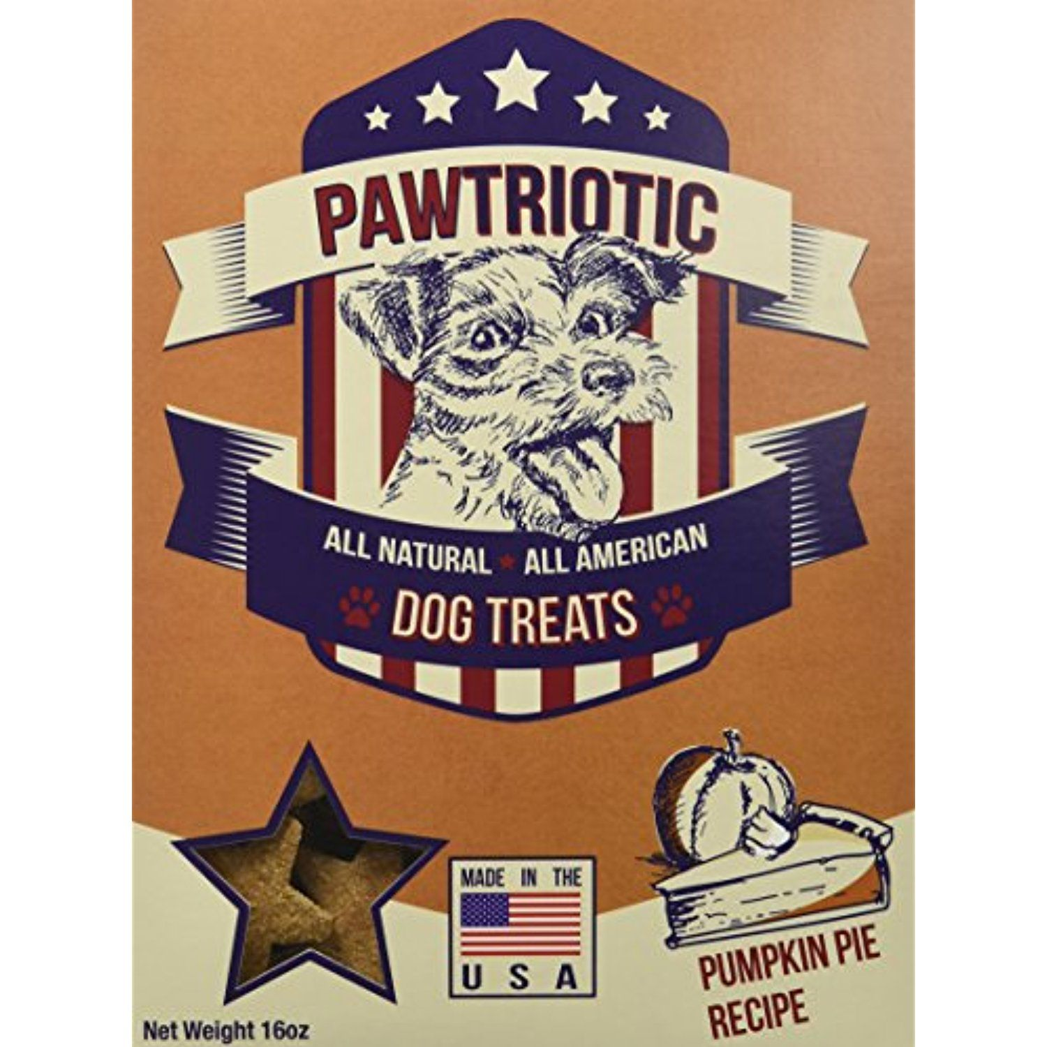 PAWTRIOTIC All Natural All American Dog Treats (3 Pack