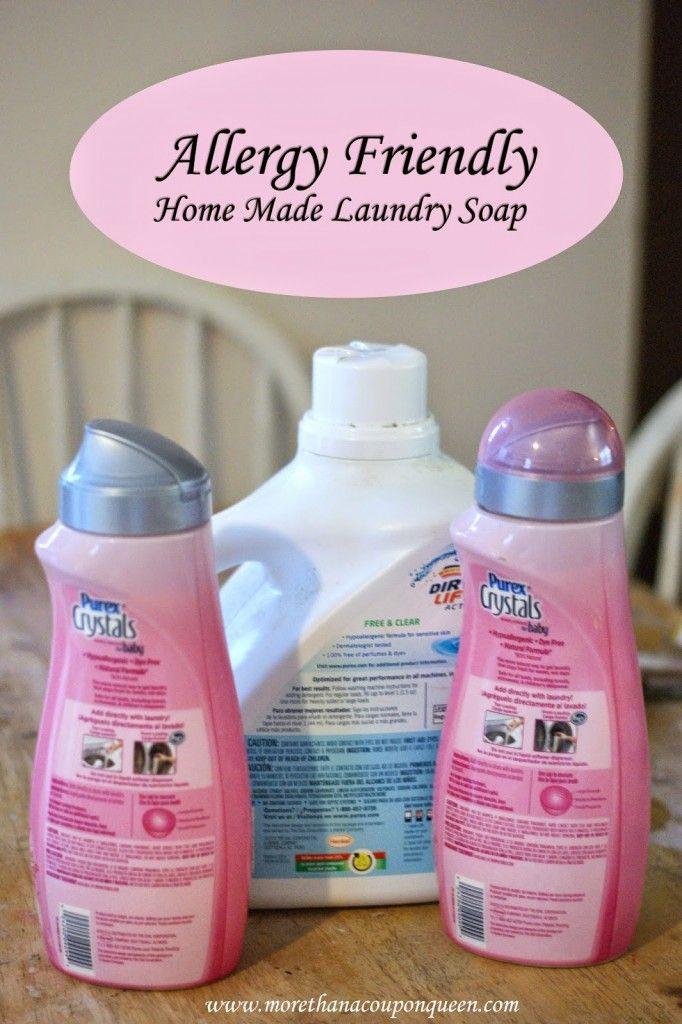 Allergy Friendly Home Made Laundry Soap Recipe Laundry Soap