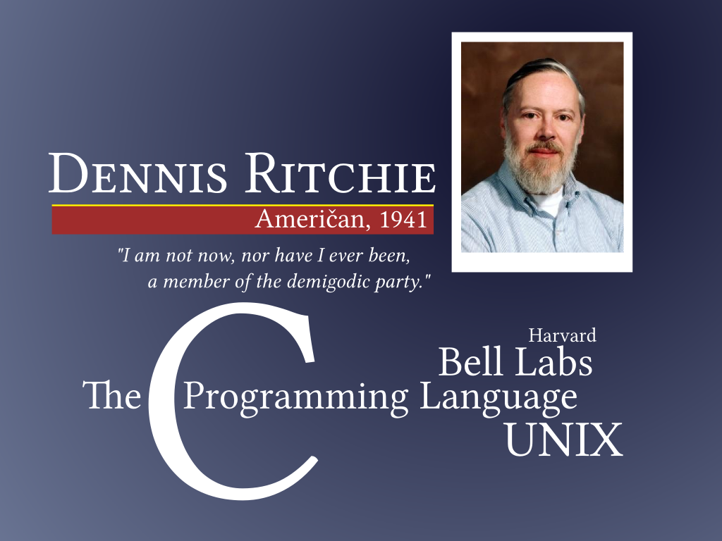 Unix creator dennis ritchie c c language pinterest dennis macalistair ritchie famously known as dennis ritchie was one among the most prominent as well as influential computer scientists of all times fandeluxe Images
