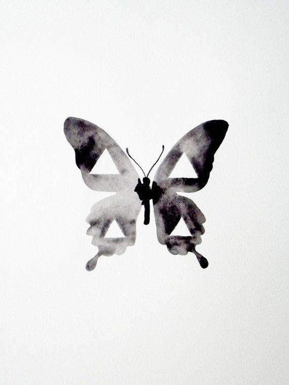 Geometric Butterfly Tattoo Google Search Butterfly Watercolor