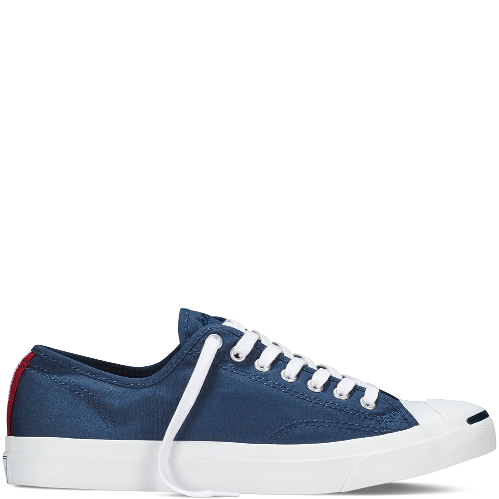 Jack Purcell Woven Tape - Navy - Low Top · Blue ConverseConverse  TrainersColorful SneakersConverse ...